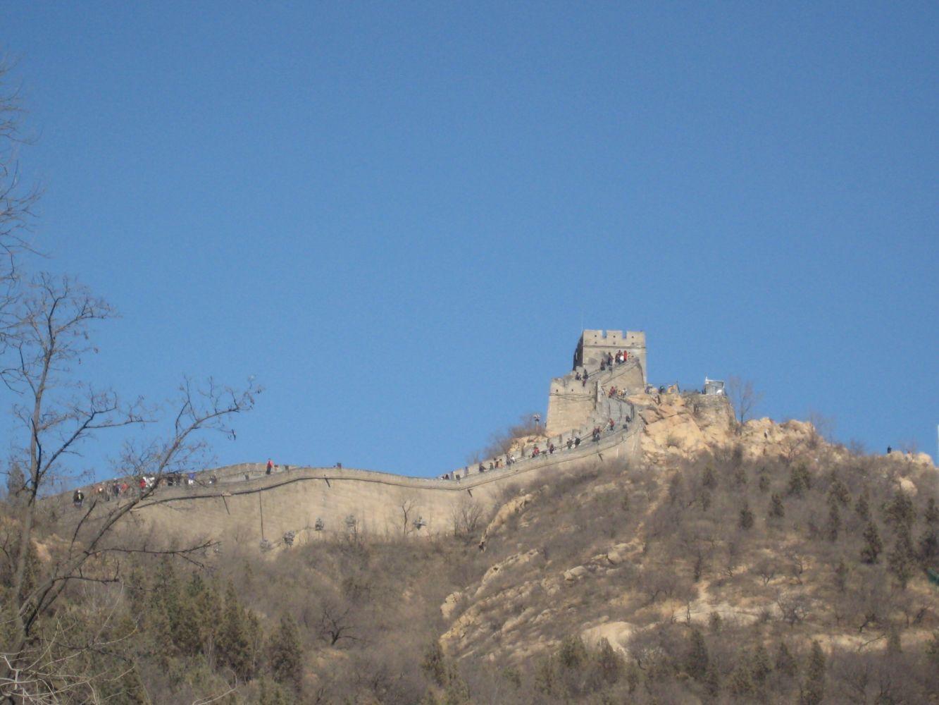 hvor lang er den kinesiske mur